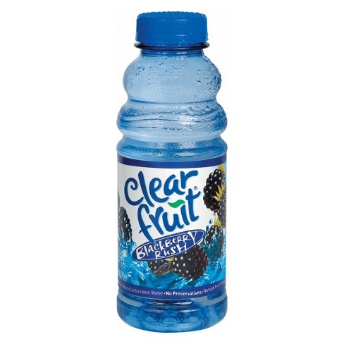 Clearfruit Blackberry Rush Flavored Water - 20 fl oz Bottle - image 1 of 1
