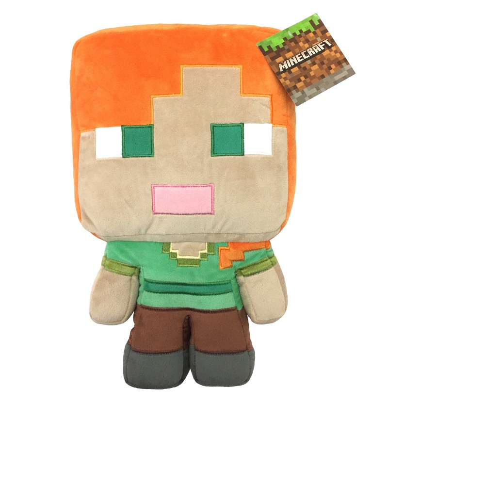 Image of Minecraft Green Throw Pillow