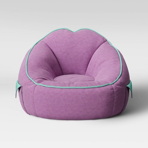 Admirable Jersey Bean Bag Chair With Pockets Violet Pillowfort Creativecarmelina Interior Chair Design Creativecarmelinacom