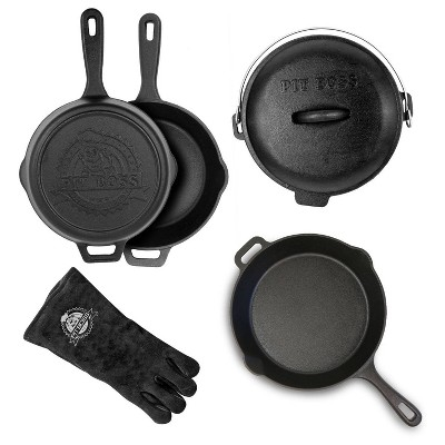 6pc Cast Iron Starter Kit - Pit Boss