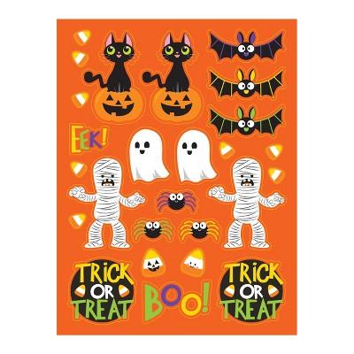 4ct Spooky Friends Halloween Stickers