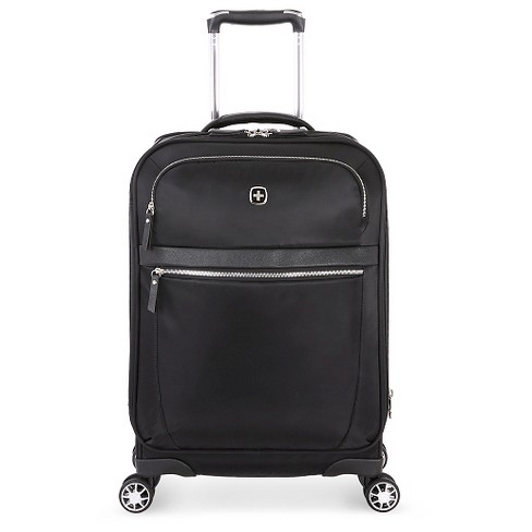 swissgear geneva 20 carry on suitcase black target