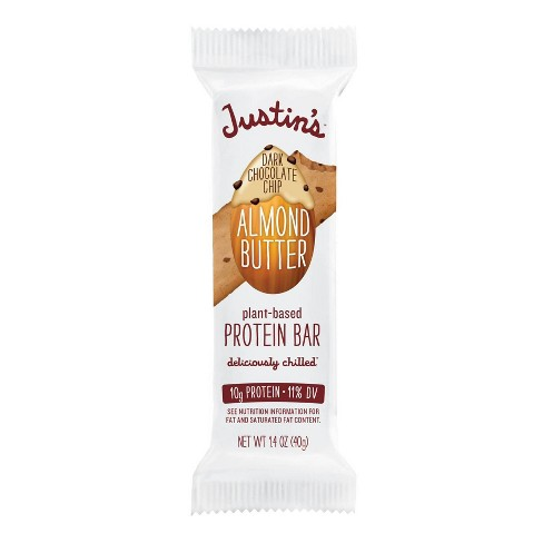 Justin's Protein Bar Chocolate Chip Almond Butter - 1.4oz - image 1 of 4