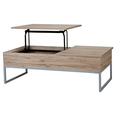 Lift Functional Coffee Table Brown - Christopher Knight Home