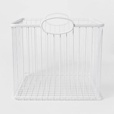 Large Stackable Storage Wire Bin - Pillowfort™