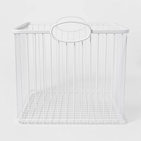 Stackable Storage Wire Bin - Pillowfort™ - image 1 of 4