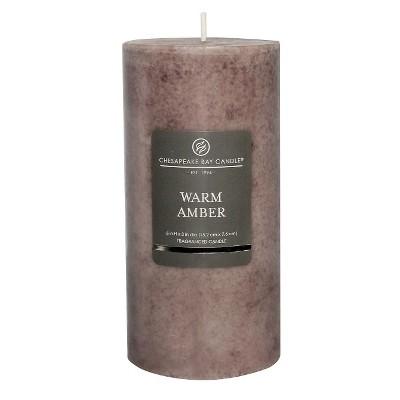 Pillar Candle Warm Amber 6 x3  - Chesapeake Bay Candle®