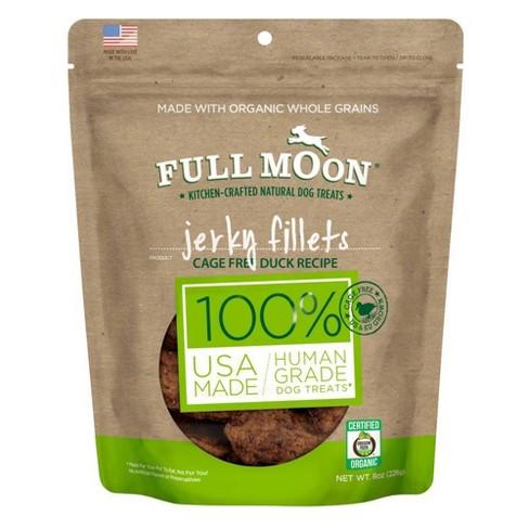 Full Moon Duck Jerky Fillet Dog Treats- 8oz - image 1 of 3