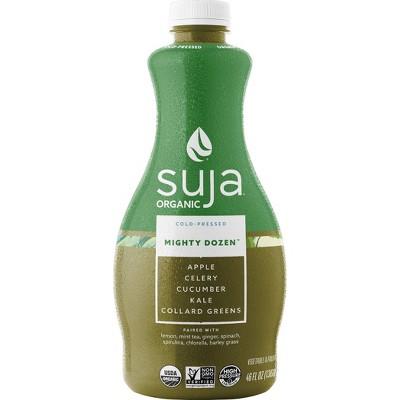 Suja Organic Vegan Mighty Dozen Fruit and Vegetable Drink - 46oz