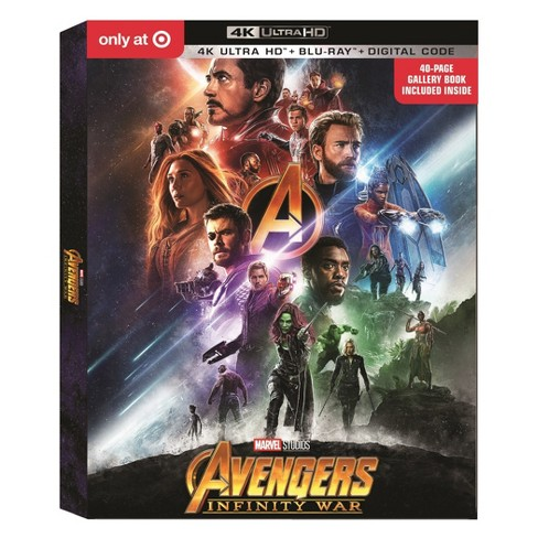 Marvel Avengers: Infinity War Target Exclusive (4K/UHD) - image 1 of 1