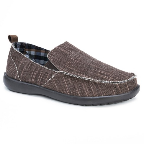 Men's MUK LUKS® Andy Adult Loafers - Brown - image 1 of 6
