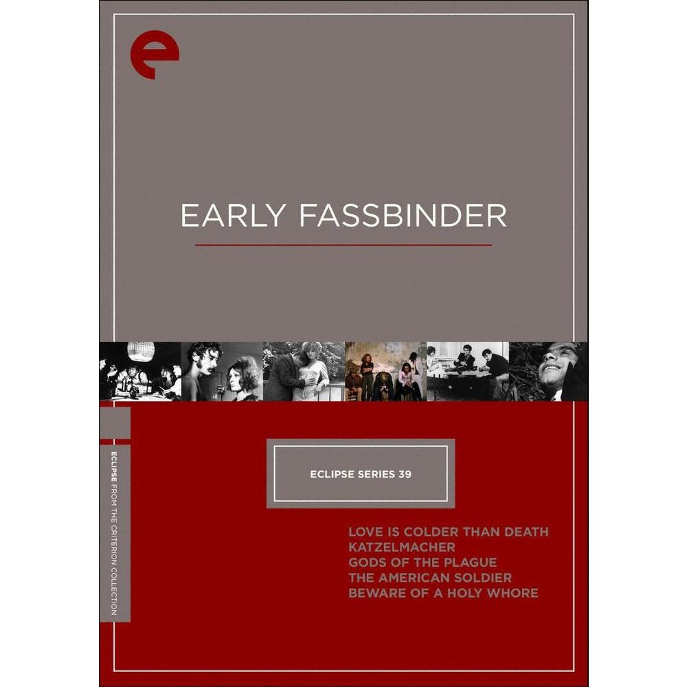Eclipse Series 39:Early Fassbinder (Dvd)