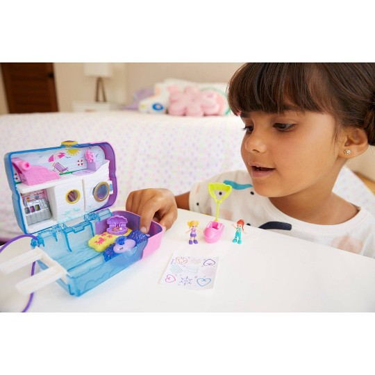Polly Pocket Sweet Sails Cruise Ship Playset image number null