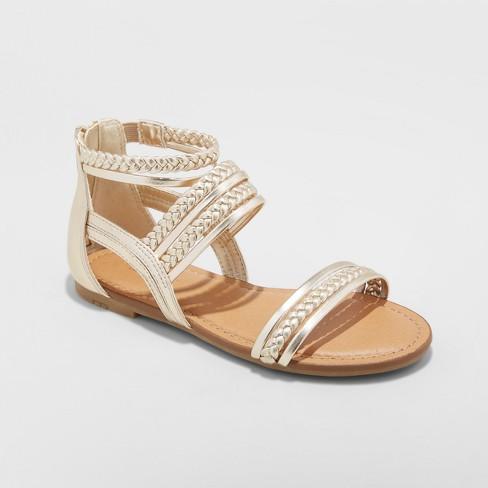 33e54162d5e7 Girls  Naudia Gladiator Sandals - Cat   Jack™   Target