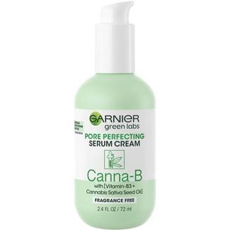 Garnier Green Labs Canna-B Pore Perfecting Serum Cream - SPF 30 - Unscented - 2.4 Fl Oz : Target