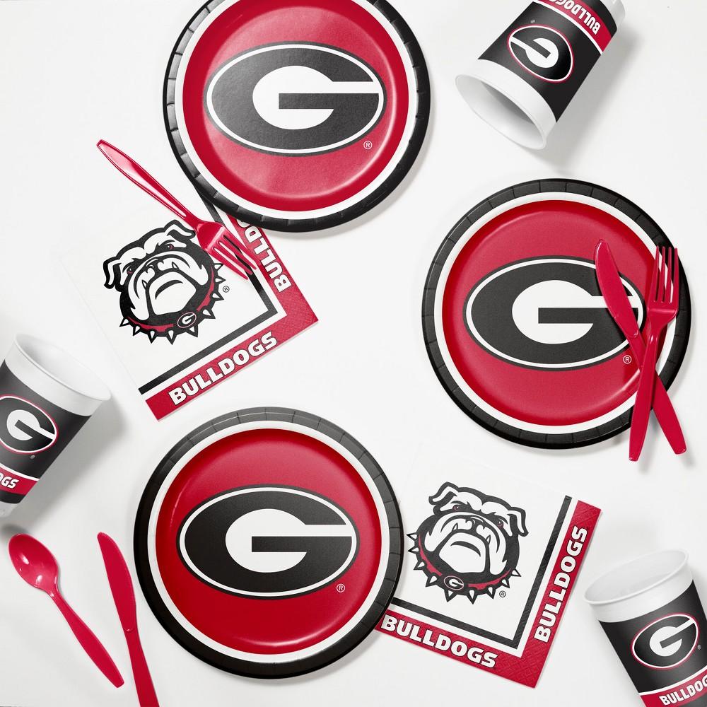 Georgia Bulldogs Tailgating Kit Red Black