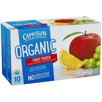 Juice Boxes: Capri Sun Organic