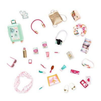 "Lori - Travel Accessories for 6"" Mini Dolls - Traveling the World"
