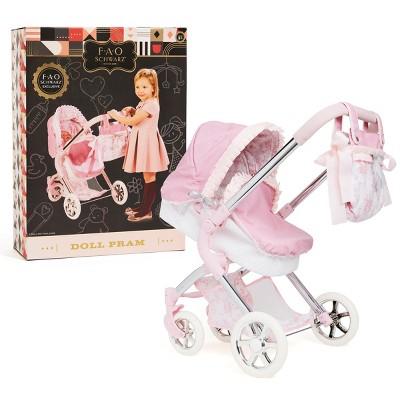 FAO Schwarz Classic Baby Doll Pram