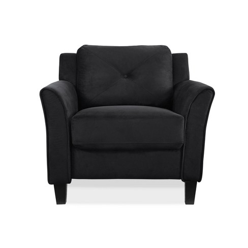 Harper Tufted Microfiber Chair - Lifestyle Solutions - image 1 of 4