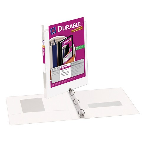 "Avery® .5"" 3 Ring Binder with Slant Rings White - image 1 of 1"