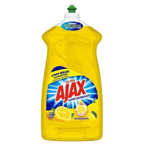 Ajax Ultra Super Degreaser Dishwashing Liquid Dish Soap - Lemon - image 1 of 3