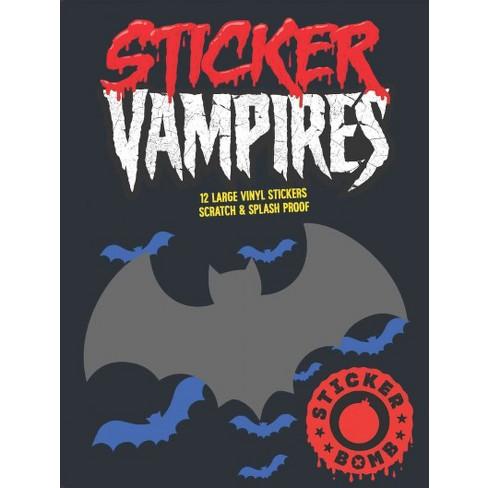 Sticker Vampires 12 Large Vinyl Stickers Scratch Splash Proof