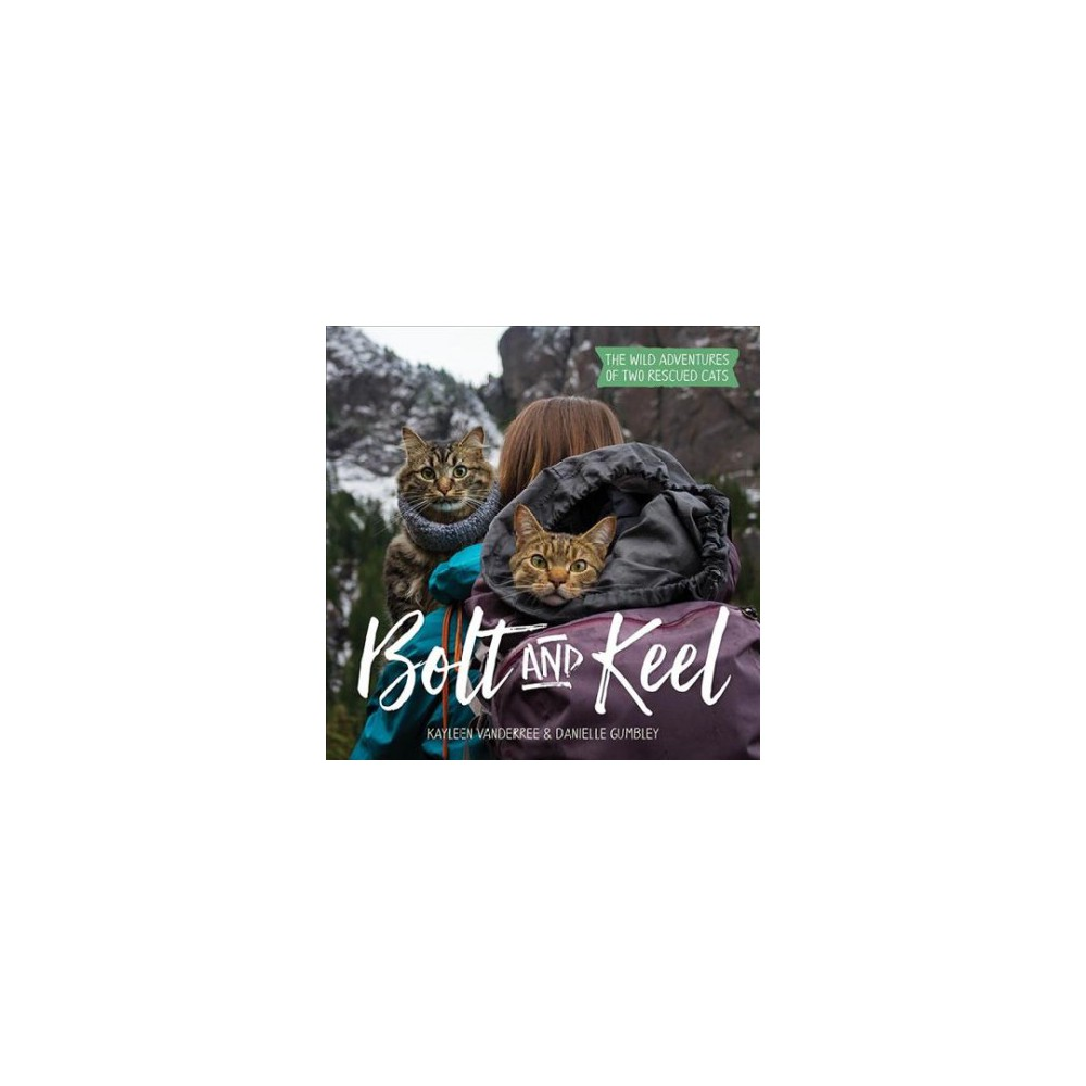 Bolt and Keel : The Wild Adventures of Two Rescued Cats - (Hardcover)
