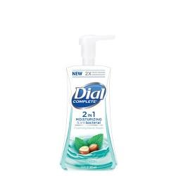 Dial 2 in 1 Shea & Mint Moisturizing & Antibacterial Foam Hand Wash - 7.5oz