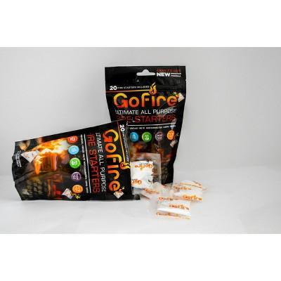 2pk 20ct Fire Starters Bags - GoFire