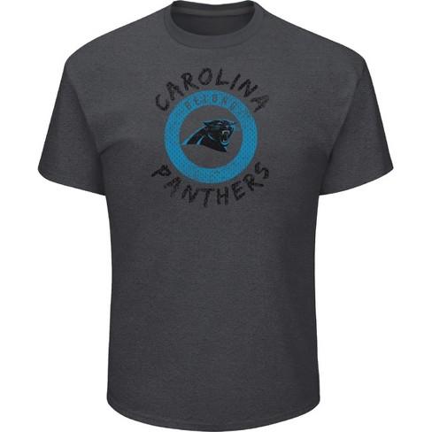 NFL Carolina Panthers Men s Startling Success Gray Soft Touch T-Shirt f4d58fd8c
