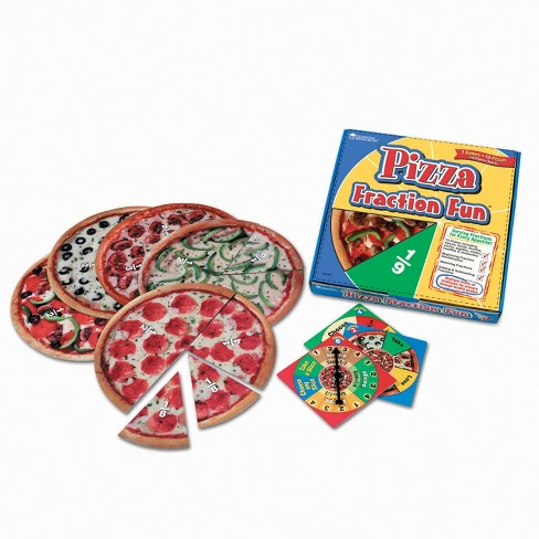Pizza Fraction Fun Game - image 1 of 1