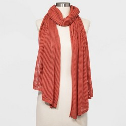 Women's Oblong Travel Wrap Scarf - A New Day™