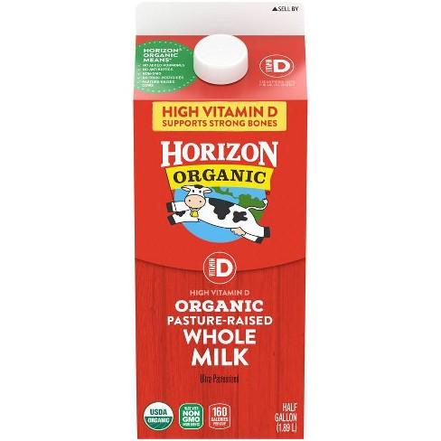 Horizon Organic Whole Milk - 0.5gal - image 1 of 3