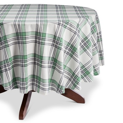 Cream Plaid Tablecloth - Threshold™