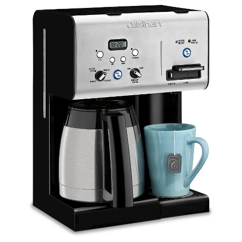 Cuisinart 10 Cup Programmable Coffee Maker Hot Water System