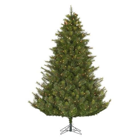 7.5ft Berkshire Fir LED Pre-Lit Artificial Christmas Tree Full -  Multi-color Lights : Target - 7.5ft Berkshire Fir LED Pre-Lit Artificial Christmas Tree Full