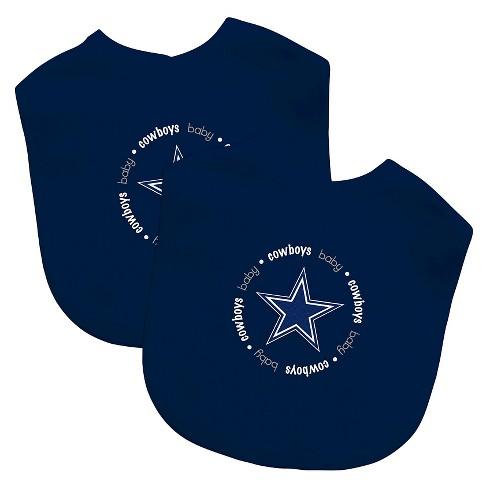 cbc256435da Dallas Cowboys Baby Fanatic Bibs - 2 Pack : Target