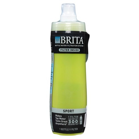 brita sport 20 oz water bottle - yellow : target