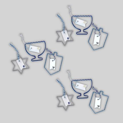 9pc Hanukkah Cookie Cutters - Bullseye's Playground™ - image 1 of 4