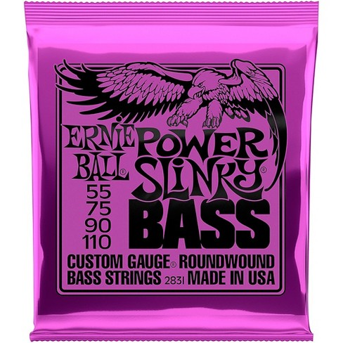 Ernie Ball 2831 Slinky Round Wound Power Bass Strings - image 1 of 2