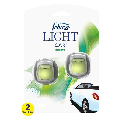 Febreze Light Car Bamboo Air Freshener - 0.13 fl oz