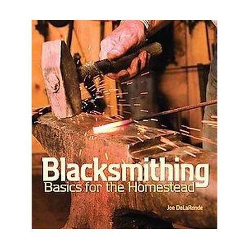 Blacksmithing Basics for the Homestead - by  Joe Delaronde (Paperback) - image 1 of 1