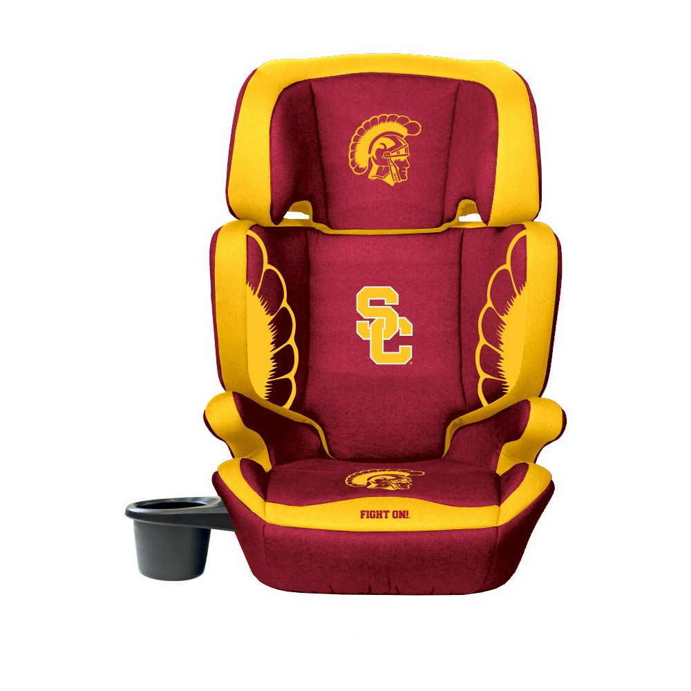 NCAA Usc Trojans LilFanCollegiate Club Seat Premium 2 in 1 High Back Booster Seat