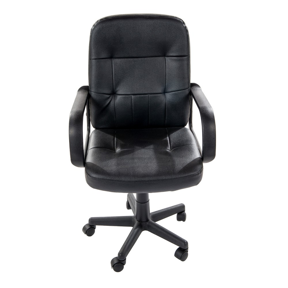 "Image of ""36"""" Computer Chair With Nylon Back Black Home Source - Home Source Industries"""