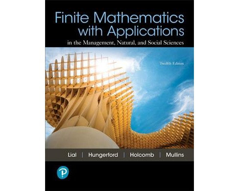 Finite Mathematics With Applications -  (Hardcover) - image 1 of 1