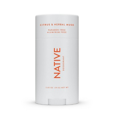 Native Citrus & Herbal Musk Deodorant for Men - 2.65oz