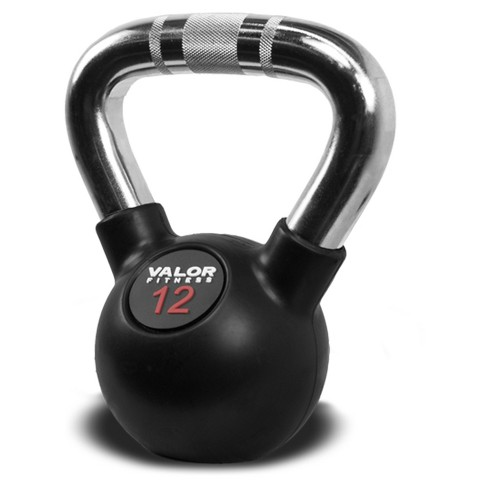 Valor Fitness CKB-12 Chrome Kettlebell - 12lb - image 1 of 4