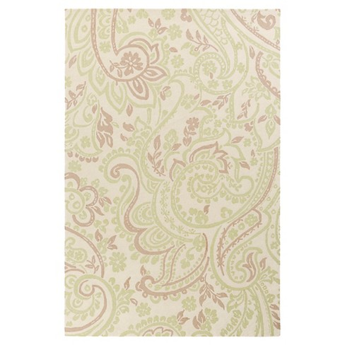 Mint Amina Kid's Accent Rug (3'x5') - Surya® - image 1 of 1