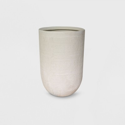 18  Textured Ceramic Planter White - Project 62™